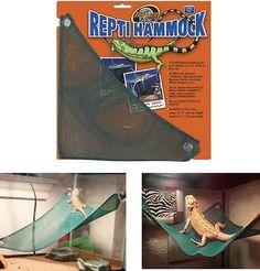Reptile Hammock Bed Mesh Climbing Lizard Gecko Iguana Snake Pet Supply Terrarium