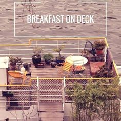 #Goodmorning ! Would you like your #breakfast served on #deck?