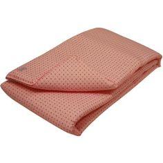 Ce tour de lit Pretty Pastels rose pastel de la marqueMoepa, très douillet, évitera à bébé de se cogner contre les barreaux de son lit.