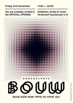 by peim van der sloot - typo/graphic posters Teaching Programs, Deconstruction, Graphic Design Inspiration, Typo, Netherlands, Movie Posters, Graphic Posters, Mood, Abstract