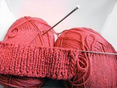 How to knit legwarmers EASY