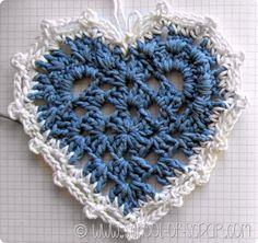 Scuola di Uncinetto: la piastrella granny a cuore | Alessia, scrap & craft...Alessia, scrap & craft…