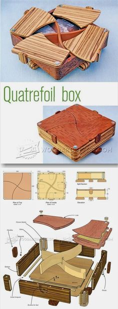 Complex Box Plans - Woodworking Plans and Projects | WoodArchivist.com #woodworkingtips #WoodworkingPlansEasy  #WoodworkPlans