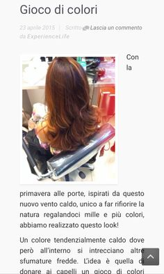 Gioco di colori, la nuova creazione di Lorenzo Belardi Hair stylist su www.experiencelife.it #love #TagsForLikes.com #TagsForLikesApp #instagood #me #smile #follow #cute #photooftheday #tbt #followme #TagsForLikes.com #girl #beautiful #happy #picoftheday #instadaily #food #swag #amazing #TFLers #fashion #igers #fun #summer #instalike #bestoftheday #smile #like4like #friends #instamood