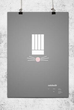 Ratatouille - Minimalist Poster