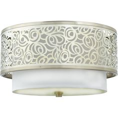 Buy the Quoizel Brushed Nickel Direct. Shop for the Quoizel Brushed Nickel Josslyn 2 Light Wide Semi-Flush Ceiling Fixture with Silk Shade and save. Quoizel Lighting, Semi Flush Lighting, Semi Flush Ceiling Lights, Flush Mount Ceiling, Ceiling Light Fixtures, Home Lighting, Ceiling Lighting, Lighting Ideas, Bathroom Lighting