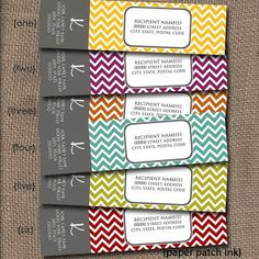 Paper Patch Ink Envelope wrap arounds