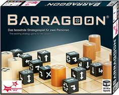 WiWa Spiele 790016 - BARRAGOON - The exciting strategy game for two players players board game board games) - Winner MinD-Spielepreis 2016 Strategy Games, Board Games, Mindfulness, Info, Voici, Models, Crafts, Innovative Products, Presents