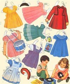 Nursery School Dolls - Janey