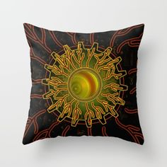 Throw Pillow made from spun polyester poplin fabric, a stylish statement that will liven up any room. Individually cut and sewn by hand, each… Poplin Fabric, Hand Sewing, Cushions, Tapestry, Throw Pillows, Eyes, Stylish, Room, Decor