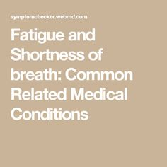 WebMD Symptom Checker helps you find the most common medical conditions indicated by the symptoms Fatigue and Shortness of breath and including Heart rhythm disorder, Anemia and Medication reaction or side-effect. Shortness Of Breath Remedies, Shortness Of Breath Causes, Heart Rhythm Disorder, Heart Rhythms, Medical Conditions, Disorders, Breathe, Conditioner, Health