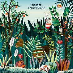 portada disco de Tortel. Ilustración de Begoña Pons