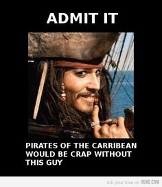 johnny depp funny | daily, funny, jack sparrow, johnny depp, life - inspiring picture on ...