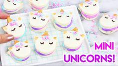 How to Make Mini Unicorn Macarons!  - YouTube