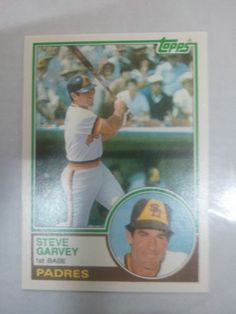 1983 Steve Garvey Topps Traded #37T