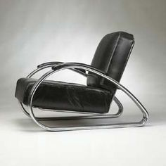 Lounge chair by Kem Weber, early 1930s.