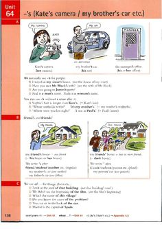 Use of the Genitive: `s & of the. English Textbook, English Grammar Book, English Literature, English Class, English Lessons, English Words, English Vocabulary, Learn English, English Language