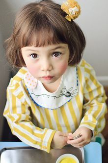 ANNIKA ピコルマン blouse (2 colors) ★ spring new product ★ Korea kids clothes blue bike ★ 90 cm/100 cm / 110 cm/120 cm / 130 cm