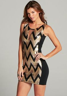 Angelina Sequin Dress at Alloy