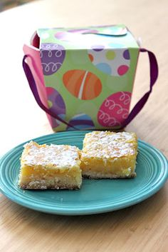 I made these lemon bars with fresh squeezed lemons and they were so good! The perfect balance of sweet and sour!