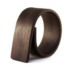Bent wood jewelry