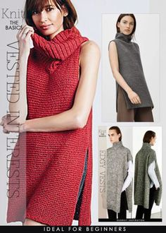 Free knitting pattern for Vested Interests and more vest knitting patterns