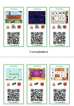 QR-kaarten Sinterklaas • Juf Maike - tips voor de ontwikkeling Teaching Technology, Teaching Biology, Toy Craft, Stem Activities, Life Science, Ipad, Qr Codes, Paper Crafts, Coding