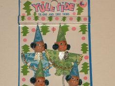 NOS 4 Mod Elves Package Picks Christmas Gift by GertsVintageGoods, $7.75