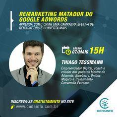 Inscrições: www.conainfo.com.br