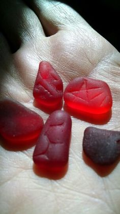 Glowing patterned red sea glass from the surf in Puerto Rico. These are going to make stunning jewelry. Red Sea, Glass Photo, Sea Glass Jewelry, Puerto Rico, Surf, Addiction, Surfing, Surfs, Surfs Up
