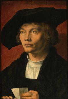 Albrecht Dürer: Bildnis des Bernhard von Reesen, 1521