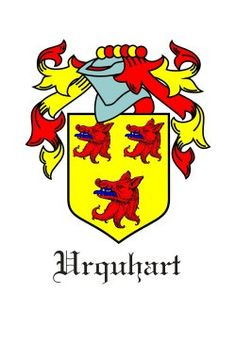 Urquhart Coat of Arms #ScottishClan