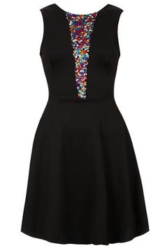 **Paillettenverziertes Kleid Von Love
