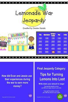 the lemonade war character summary