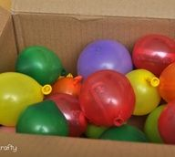 Send a box full of balloons with notes/money inside each one. Won't weigh much to ship! Great for nephew birthdays.
