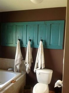 Know what to do with old doors now...