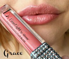 Grace Lip Gloss is the perfect light pink ❤ Limelight by Alcone