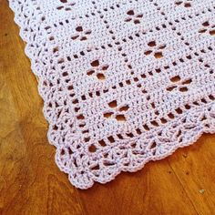 Ravelry: NansMamaRed's Call the Midwife Inspired Baby Finished with border #45 from Around the Corner Crochet BordersBlanket