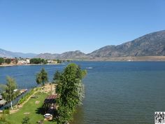 Taken from the balcony of a hotel (Holiday Inn) on Osoyoos lake