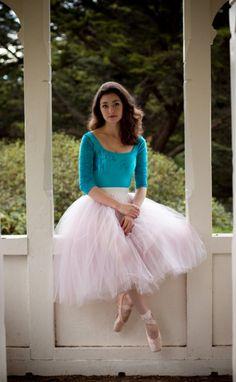 Madison Keesler, English National Ballet. Photograph : Oliver Endahl. I LOVE her!