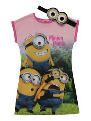 Despicable Me Minions Nightdress and Mask Set