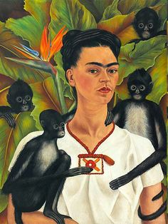 Frida Kahlo, Diego Rivera, and Mexican Modernism from the Jacques and Natasha Gelman Collection - Frist Art Museum Diego Rivera Frida Kahlo, Frida And Diego, Frida Kahlo Portraits, Frida Kahlo Artwork, Self Portraits, Surreal Portraits, Self Portrait Artists, Kahlo Paintings, Paint Icon