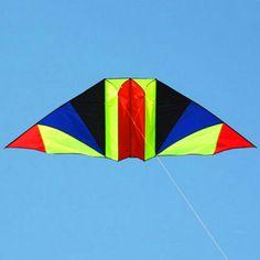 free shipping high quality 3m rainbow glider kite with handle line kite games bird kite weifang kite flying dragon hcxkite