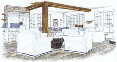 The Beach House, Michelle Morelan Rendering