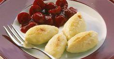Süßes mit viel Kalzium aus der Milch. Kinder mögen Geschmack und Form der Mini-Knödelchen. Top, wenn Sie noch frische Früchte, Obstmus oder -kompo ...