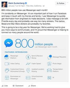 How to Use Facebook Messenger for Your #Business #Smallbusiness http://www.socialmediaexaminer.com/how-to-use-facebook-messenger-for-your-business/