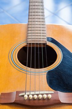Guitar. by a454 on Creative Market