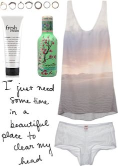 """To Clear My Head"" by vv0lf ❤ liked on Polyvore"