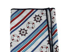 Nautical Cotton Handkerchief