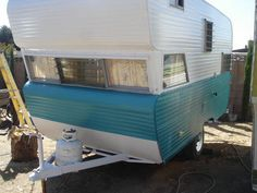 1966 Field and Stream trailer. Kara ~ this is just like our trailer!!!